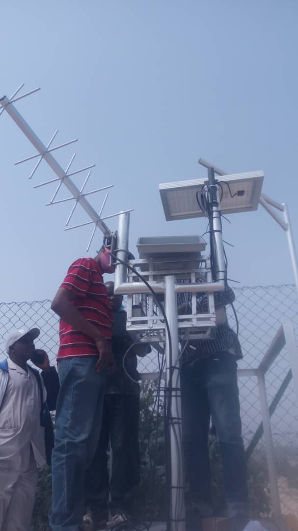 Commissioning of 2 Nos Telemetry Station at Wudil Kano State