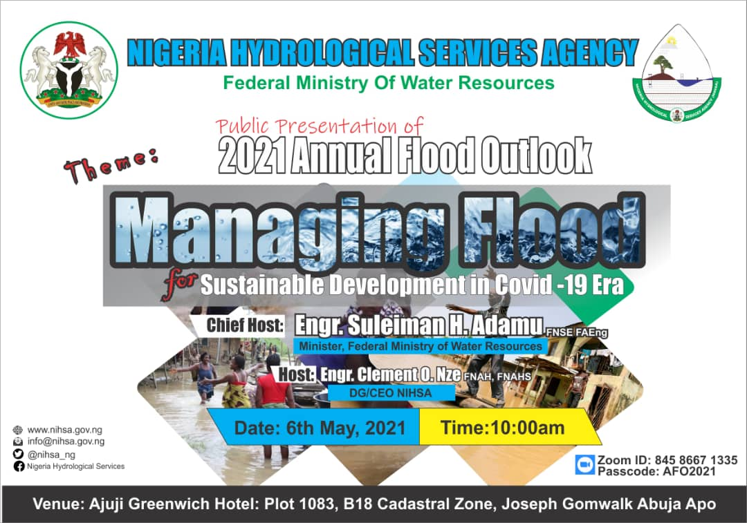 PUBLIC PRESENTATION OF THE 2021 ANNUAL FLOOD OUTLOOK (AFO) AND STAKEHOLDERS WORKSHOP