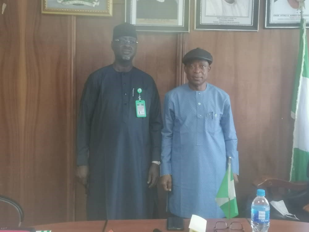 COURTESY VISIT TO THE AGENCY BY THE DIRECTOR GENERAL, NATIONAL EMERGENCY MANAGEMENT AGENCY (NEMA)