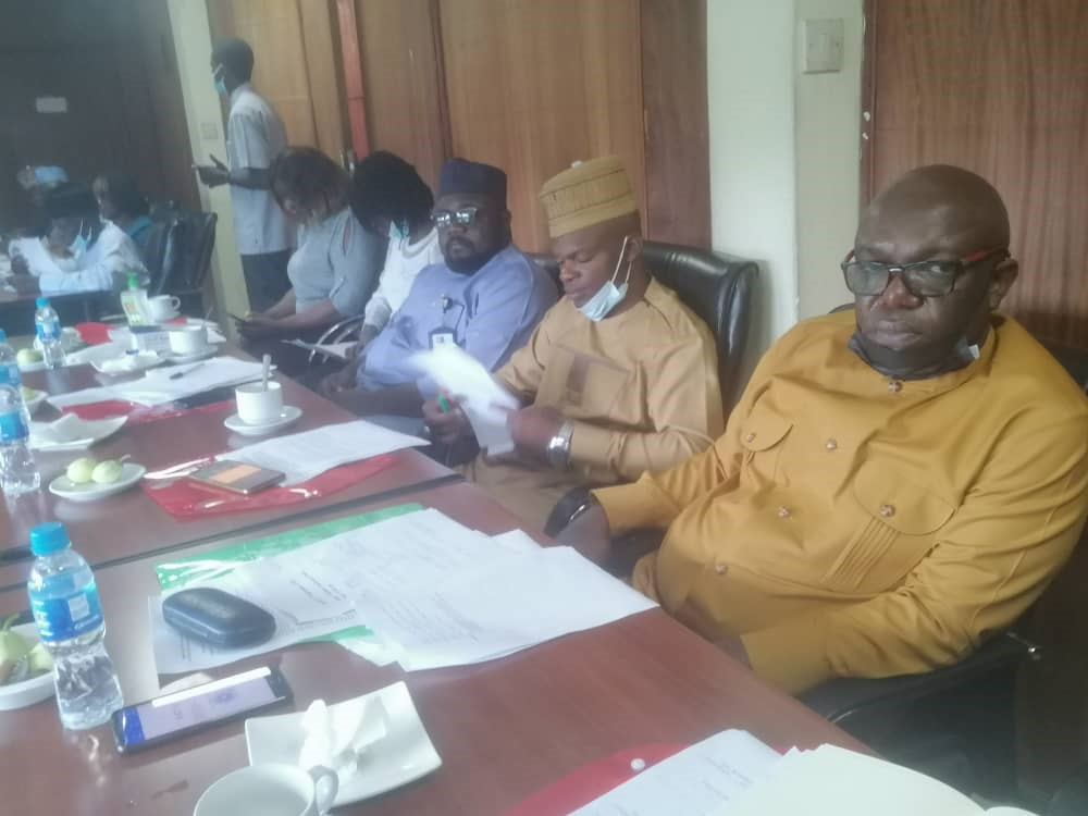 """National Inter-Ministerial Committee, meeting on """"Improving Integrated Water Resources Management (IWRM), Knowledge – Based Management and Governance of the Niger Basin and the IULLEMEDEN – TAOUDENI/ TANZROUFT AQUIFERS SYSTEMS (NB – ITTAS)"""